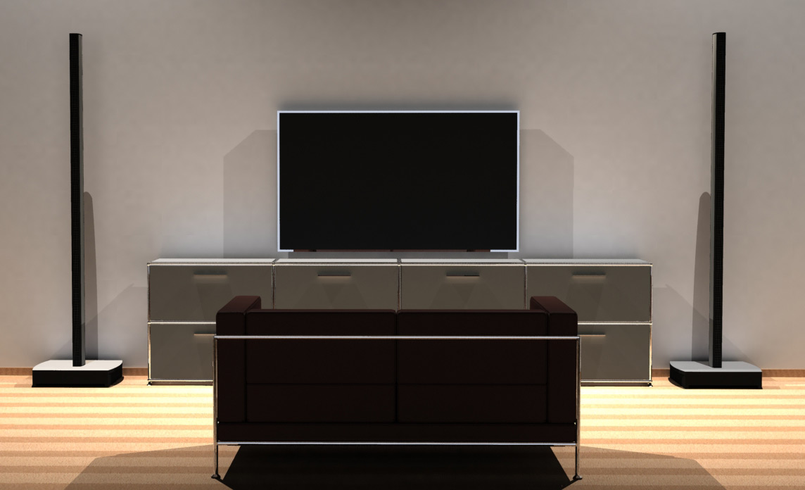 lounge speaker die perfekte l sung f r tv und stereo musik. Black Bedroom Furniture Sets. Home Design Ideas